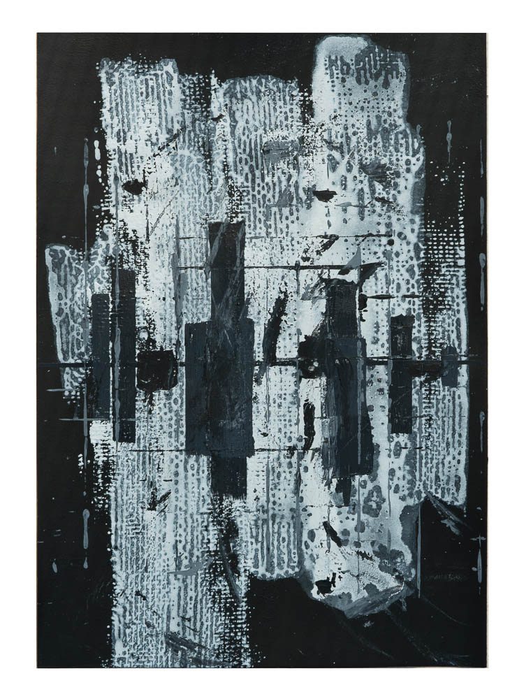NACHTANGST - acrylic on paper - 29,7 x 42 cm - 2018