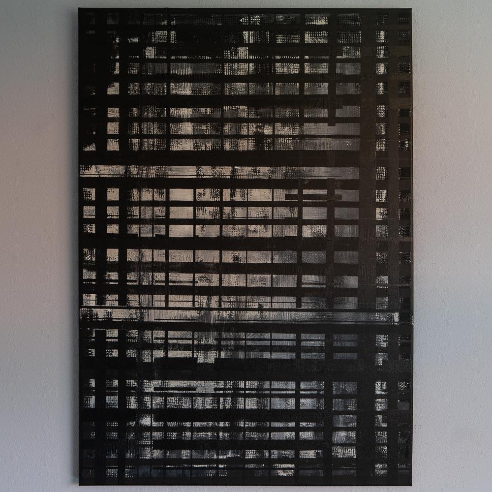 HET GEWICHT - acrylic on canvas - 70 x 100 cm - 2018