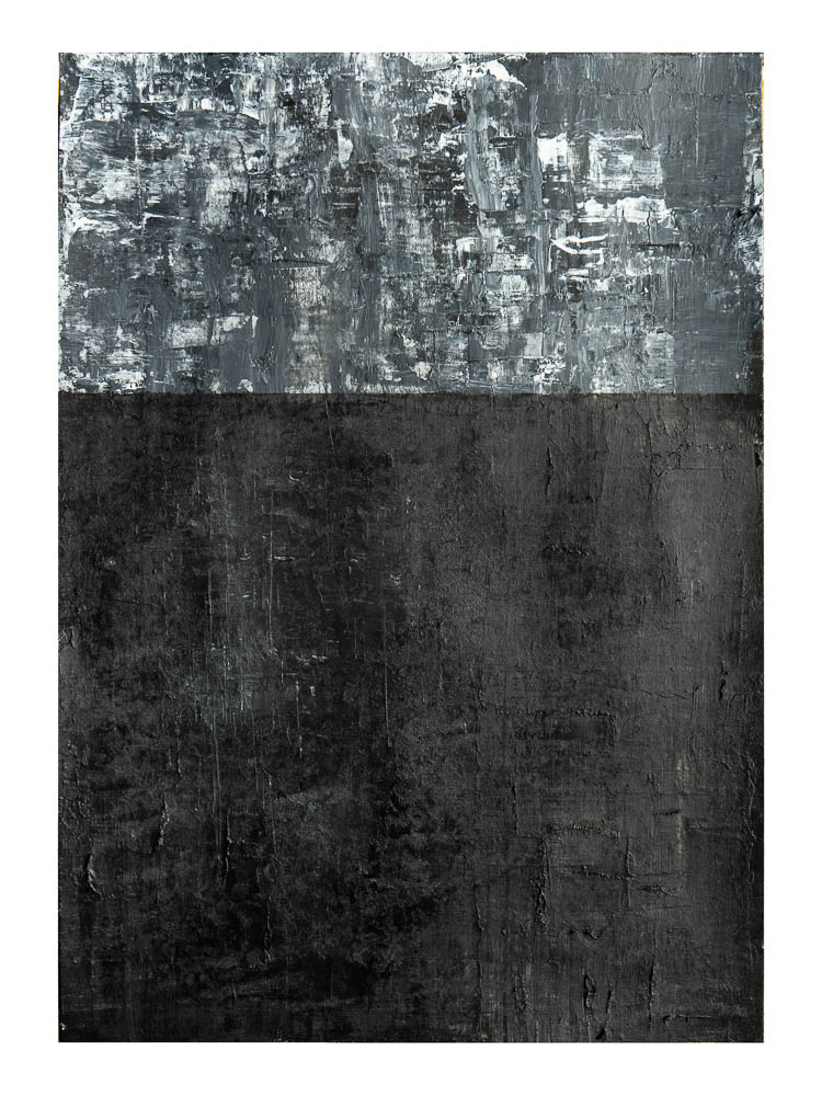 IK ZAL NIET KIJKEN - acrylic on paper - 29,7 x 42 cm - 2018