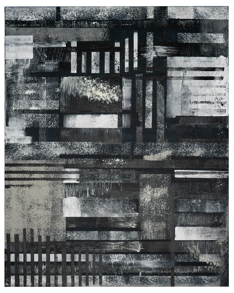 BANDIET - acrylic on canvas - 80 x 100 cm - 2018
