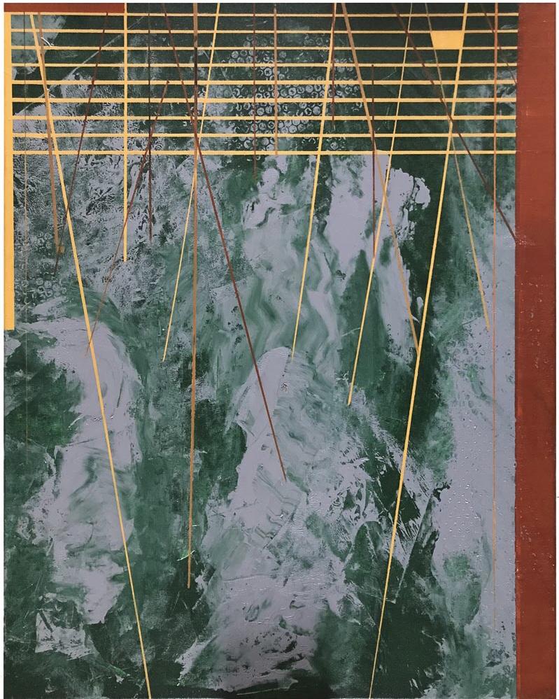 BELHAMEL - acrylic on canvas - 73 x 92 cm - 2018