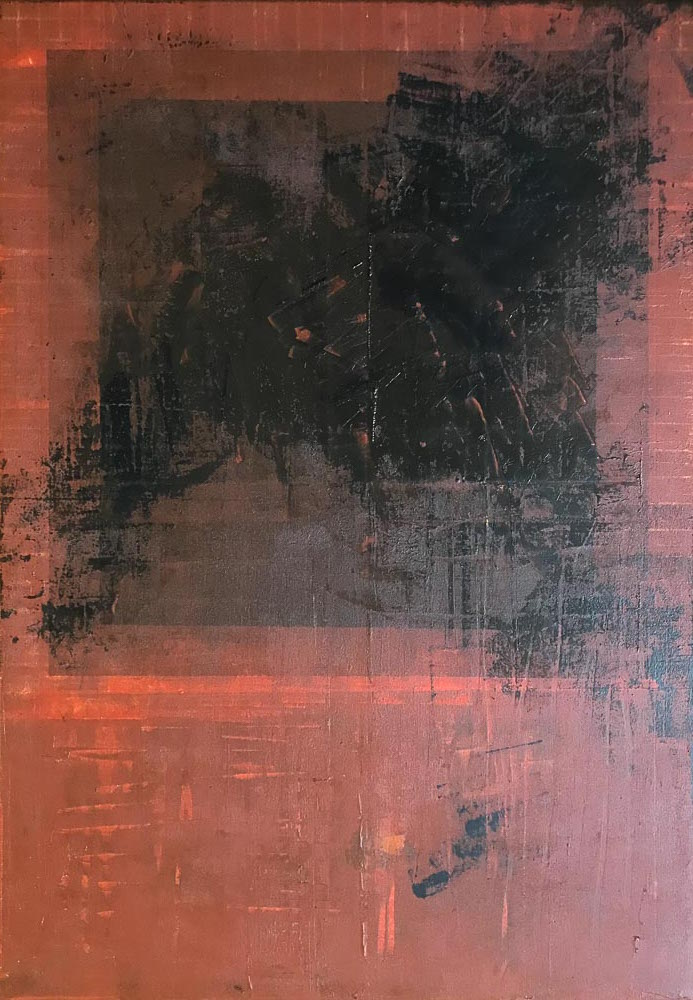 FURIE - acrylic on canvas - 70 x 100 cm - 2019