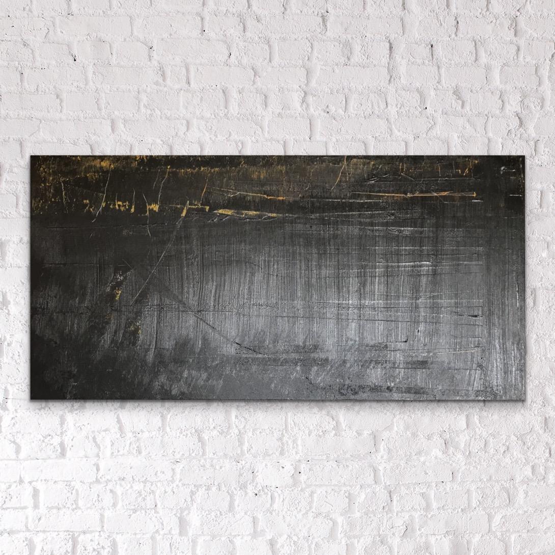NIEMAND WIL ME HEBBEN - acrylic on canvas - 60 x 120 cm - 2019
