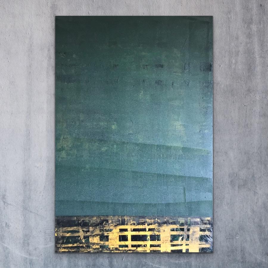 ONDER INVLOED - acrylic on canvas - 80 x 120 cm - 2019