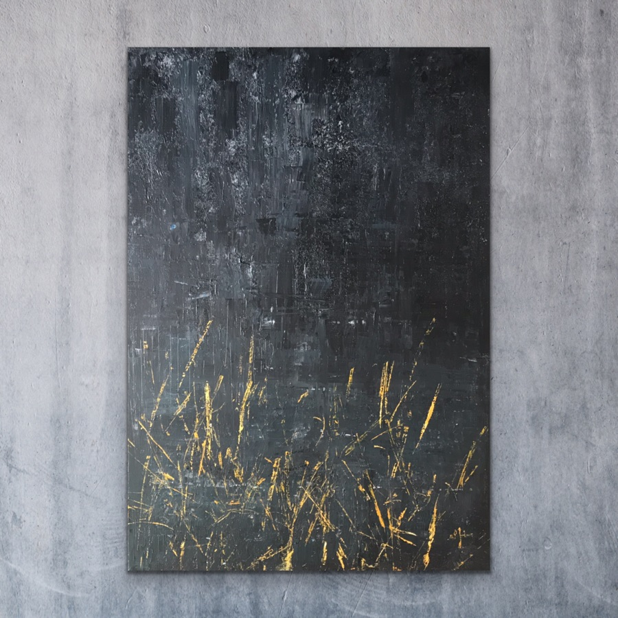 KDVR - acrylic on canvas - 70 x 100 cm - 2019